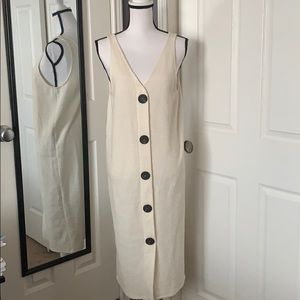 NEW LISTING!Zara ivory knit dress NWOT